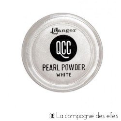Pearl powder mica white