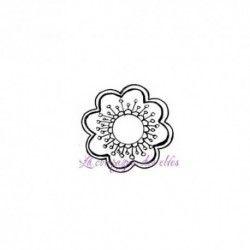 Fleur tampon non monté - ref E