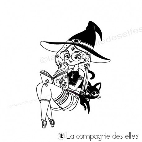 Achat tampon repositionnable | tampon scrap Halloween