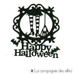 Achat dies sorcière happy halloween