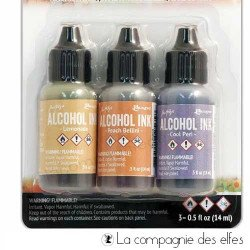 Kit encre alcool lemonade peach bellini cool peri