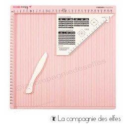 Acheter plieuse papier scrapbooking score easy