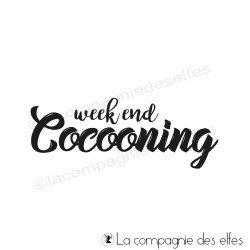 Tampon week end cocooning