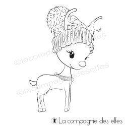 Tampon biche bonnet hiver
