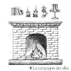 Tampon cheminée et accessoires
