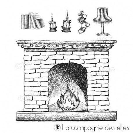 Tampon encreur cheminée et accessoires