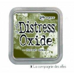Distress pad forest moss oxide