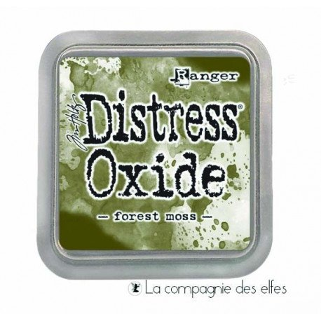 Distress forest moss oxide