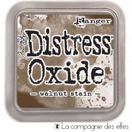 Distress walnut stain oxide