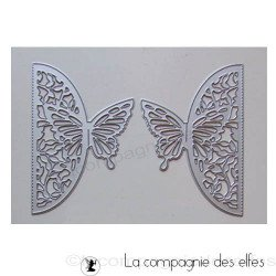 dies fermeture carte papillon