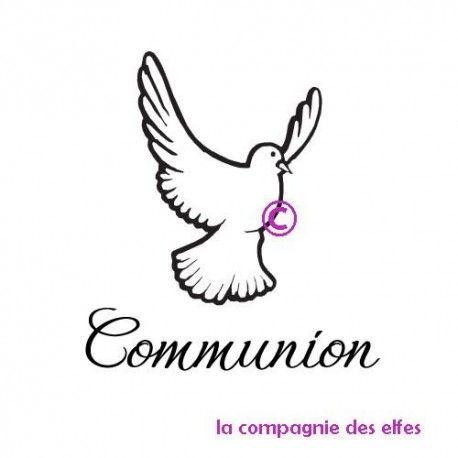 TAMPON COMMUNION - BOIS