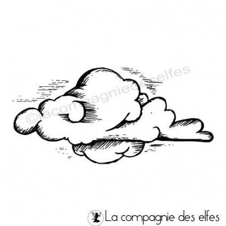 Lundi 22 Février pas à pas de Blogorel programmé 22 et 23 février Tampon-nuage