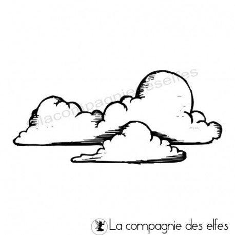 Tampons nuages | nuages tampon encreur