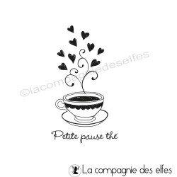 Tampon petite pause thé