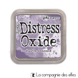 Distress dusty concord oxide