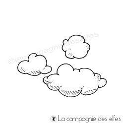 Tampon les trois nuages