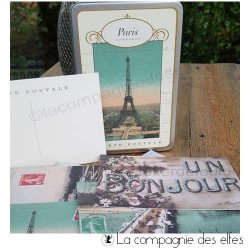 Carte postale rétro Paris | ACHAT CARTE CAVALLINI