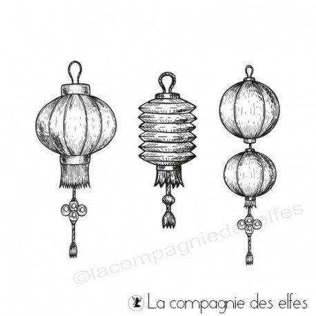 pages 2/2 Tampon-encreur-lanternes-japonisantes