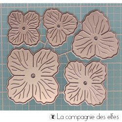 Dies formes fleur à composer