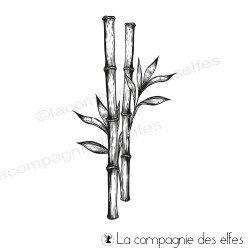 Tampon encreur grand bambou