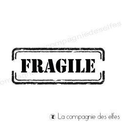 Tampon encreur fragile