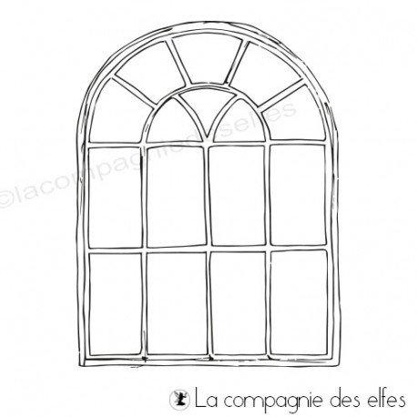 Achat tampon fenêtre stempel | window stamp