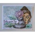 Carte belle année Zen par Sandrine