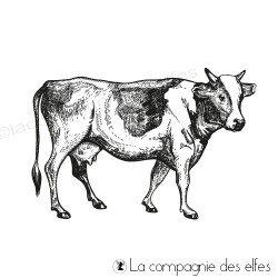 Tampon vache de la ferme