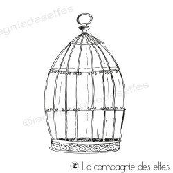 Tampon cage oiseaux