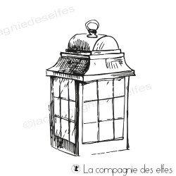 Tampon lanterne printannière