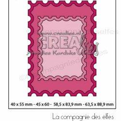 Achat dies faux timbres Crealies