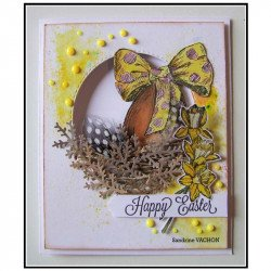 Carte fait main Pâques