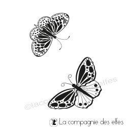 Tampon envol de papillons