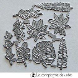 Achat dies feuilles
