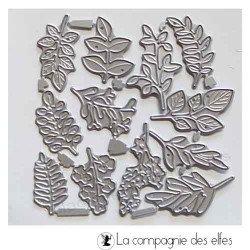 Dies 12 feuilles feuillages