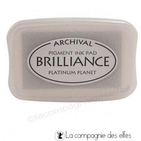 Brilliance platinium | encre platinium