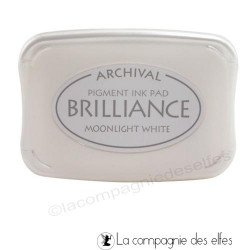 Brilliance white moonlight | encre blanche