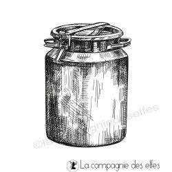 Tampon pot à lait métal