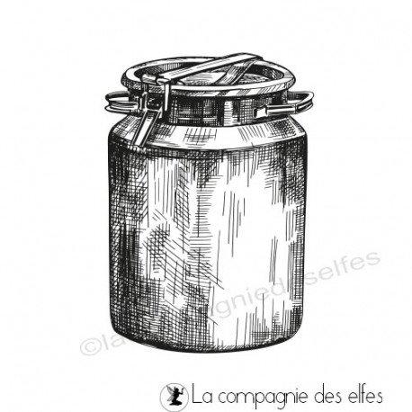 pages d'art journal 2/2 Tampon-pot-a-lait-metal