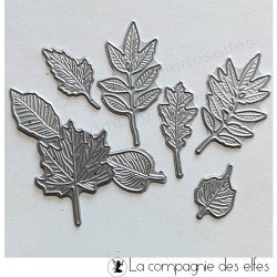 Dies mini feuilles