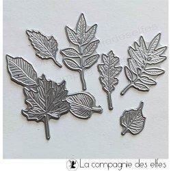 Acheter dies petites feuilles