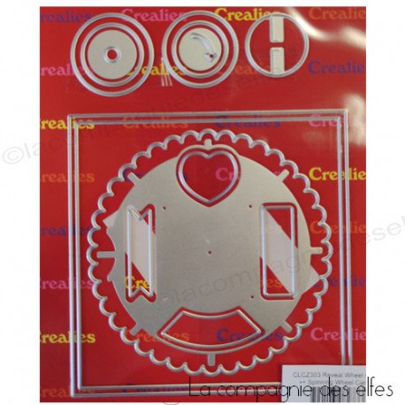 1er mai 3/3 Dies-crealies-spinning-wheel-card