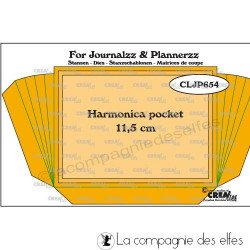 Dies pocket harmonica Crealies