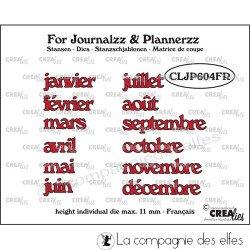 Achat dies les mois de l'année en français