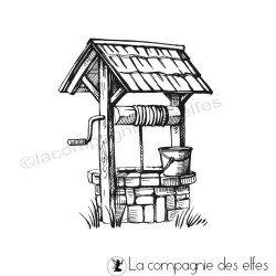 Tampon le puits au fond du jardin