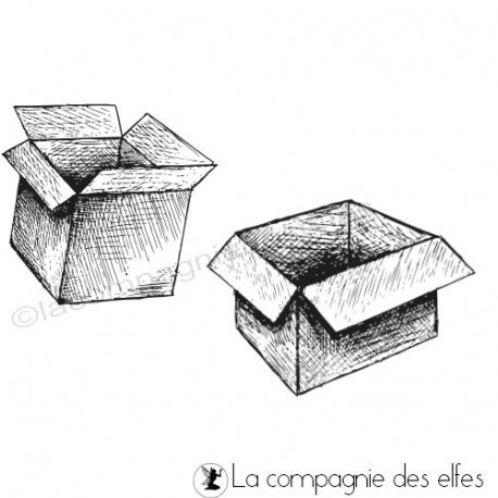 achat timbres cartons ouverts