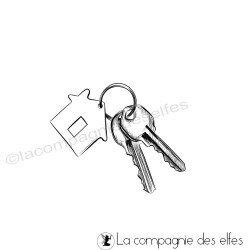 Tampon les clés du bonheur