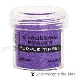 Achat poudre purple Ranger tinsel