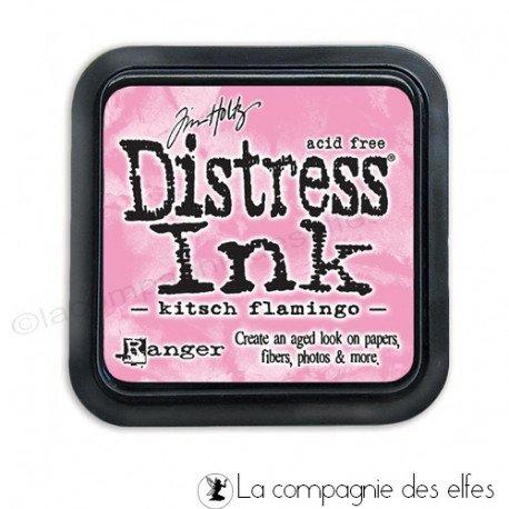 Achat encre distress kitsch flamingo