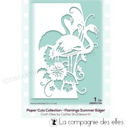 Dies collection flamant rose